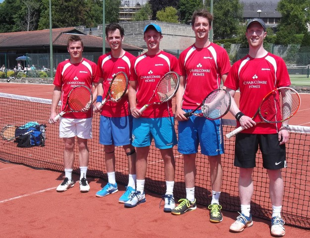 Lansdown Tennis Club Men's First Team